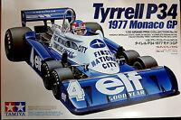 Tyrrell P34 1977 Monaco GP La Mitica 6 Ruote  - Tamiya Kit 1:20 20053 - Nuovo