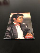 Supreme Michael Jackson Sticker Bogo