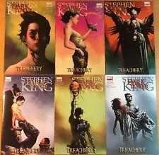 Stephen King The Dark Tower 1 2 3 4 5 6 Marvel Comic Run Set Series 1-6 FN/VF