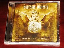 Supreme Majesty: Elements Of Creation CD ECD 2005 Bonus Track Melodicpia NEW