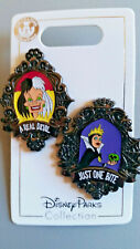 Disney Pin - Halloween 2019 Cruella a Real Devil & Evil Queen Just one Bite