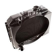 Radiator 2 Row Fan Shroud 1941 To 1952 Willys X 17101.01