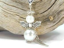 7 Schutzengel Engel Schlüsselanhänger weiß Glücksbringer Bastelset Perlenengel