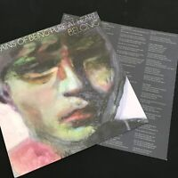 The Pains Of Being Pure At Heart - Belong - 2011 USA 1st Press with Lyrics NM