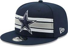 Dallas Cowboys New Era 9FIFTY NFL Snapback Hat Strike Cap Flat Brim 950