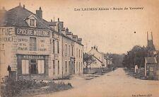 LES LAUMES ALESIA FRANCE~EPICERIE MODERNE~ROUTE de VENAVEY POSTCARD 1919