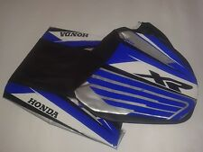 KIT SEAT cover & TANK COVER HONDA XR 600R  BLUE, SHIPPING WORLDWIDE