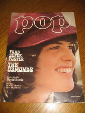 POP Nr. 15/1973 The Osmonds David Bowie Floh De Gologne + Superposter sehr rar!!