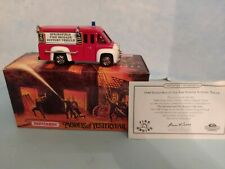 MATCHBOX MODELS OF YESTERYEAR 1948 Dodge  Fire Fighter Support Truck YFE16