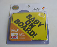 """Safety 1st/Dorel Yellow """"Baby On Board"""" Sign"""