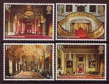 Grande-Bretagne 2014 Buckingham Palace Ensemble 4 Ex Miniature Feuille À , MNH