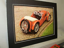 1932 MG F type Magna  60th Anniversary Exhibit Color Poster Automotive Museum