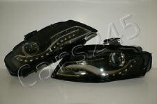 2010- Audi A4 B8 Genuine Bi Xenon LED DRL Headlights left+right Pair