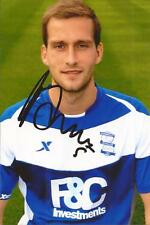 BIRMINGHAM * ROGER JOHNSON SIGNED 6x4 PORTRAIT PHOTO+COA