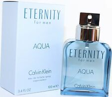 ETERNITY AQUA by Calvin Klein for Men Cologne 3.4/3.3 oz edt New in Box