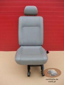 VW T5 Transporter artiffical faux leather  rear seat single right side t6