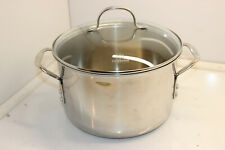 CALPHALON 8608 STAINLESS STEEL 8 QT STOCKPOT WITH LID
