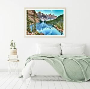 Lake & Forest Scenery Photograph Print Premium Poster High Quality choose sizes