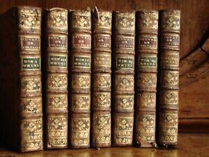 VOLTAIRE: ESSAIS SUR LES MOEURS ET L'ESPRIT DES NATIONS / NEUCHATEL 1773/ 7 Vol.