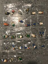 Lot of 28 used Lego Minifigures; Octan & other misc City/Town type some vintage