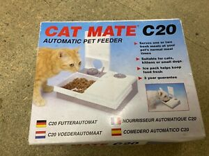 Catmate C20 Automated Timer Cat feeder H22xW27cm