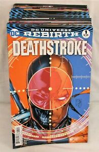 Deathstroke #1-50 All Variant Covers Complete Set Lot Full Run Rebirth DC 2016