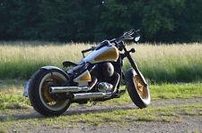 150 mm breiter runder Bobber old school Stahl Fender für Kawasaki Vulcan VN800