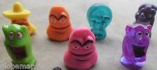 lot 7 figurines Dracco Head ou Jojo  série 1