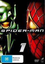 Spiderman 1 DVD Tobey Maguire Kirsten Dunst James Franco Spider-man Region 4