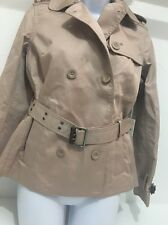 FOSSIL BLAIR TRENCH COAT DRIFTWOOD XS $348