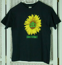 DAVID BOWIE Vintage 1980s Sunflower T-Shirt 12-13 Years Youth Unisex Women's XS