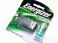 Energy Rechargeable 9v 8.4v Block Cell 6F22 PP3 R22 NH22 175 NiMH Battery x1