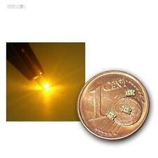 50 SMD LEDs 0805 Gelb, gelbe SMDs LED SMT yellow giallo geel jaune gul amarillo