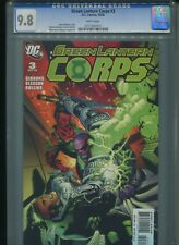 Green Lantern Corps #3 CGC 9.8 (2006) Highest Grade Only 2 @ 9.8