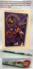 OLD STOCK ☆ Vintage NIKE Poster ☆ Scottie Pippen ☆ THE FLIGHT DIMENSION ☆ E=MC2