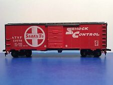 "HO Scale ""ATSF Shock Control"" 12079 Freight Train Box Car / Mantua"