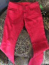 NWT Lilly Pulitzer Worth Straight Jeans Punch Pink 4 MSRP $148