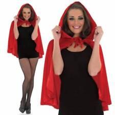 Disfraces de mujer de color principal rojo, cuentos de hadas