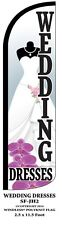 Wedding Dresses Windless Swooper Feather Banner Flag Sign