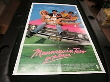 One Sheet Movie Poster Mannequin Two On The Move 1991 Kristy Swanson Terry Kiser