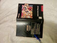 Manuale Breath Of Fire II 2 Super Nintendo Snes