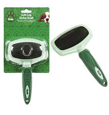 Crufts Dog Puppy Pet Hair Shedding Grooming Comb Brush Slicker Rake Tool