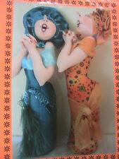 "HIGH OCTAVE HESTER~Jill Maas 2004 13"" (33cm) whimsical cloth art doll pattern"