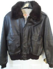 Vintage Excelled Leather G-1 Jacket -- Mens 46 (XL) -- Sold As-Is