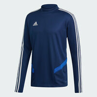 🔥 adidas Men's Soccer Tiro 19 Training Top Shirt Blue Medium NWT FAST SHIPPING!