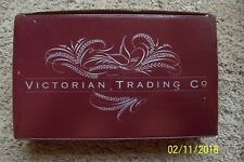 Set of 4 Victorian Trading Co. Colored Glasses
