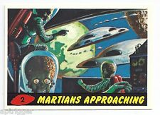 1994 Topps MARS ATTACKS Base Card # 2 Martians Approaching
