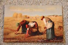 1904 Jean Francois Millet - The Gleaners - Vintage Postcard PC Misch & Stock