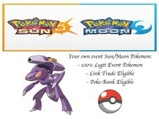 Pokémon Ultra Sun And Moon 20th Anniversary Mythical Event Pokemon Genesect