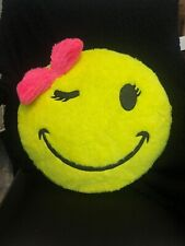 Justice Smiley Face Pillow. Decoration Pillow For Girls Bedroom